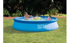 Бассейн с надувным верхним кольцом 366х76см Intex 28130