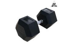 Гантели DFC гексагональные обрезиненные 40 кг/ (пара) DB001-40