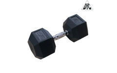 Гантели DFC гексагональные обрезиненные 25 кг. (пара) DB001-25