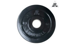 Диск обрезиненный DFC, чёрный 26мм, 0,5 кг.