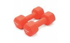 Неопреновые гантели Body Gym DB02 две 1кг